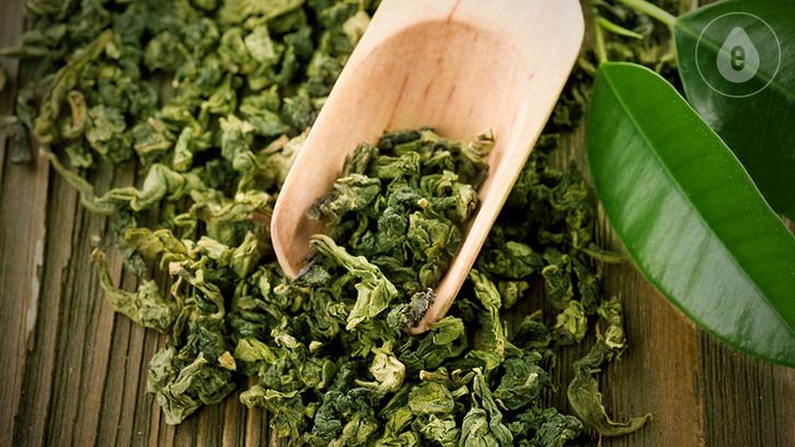 Ингредиенты DeLixir: Зеленый чай